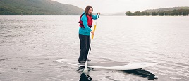 Paddle boards for hire in the Lake District
