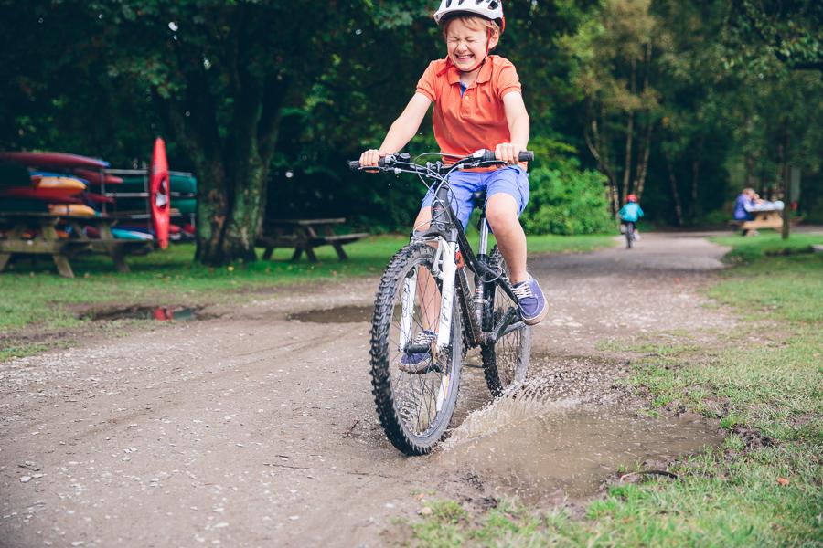 Bike at coniston